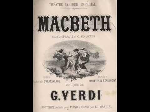 Péter Kelen - Verdi - Macbeth - O figli, o figli miei!... Ah, la paterna mano...