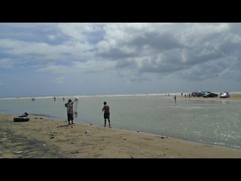 BOCA CHICA BEACH, TEXAS - RIO GRANDE - MEXICO BORDER