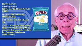 Recall On Ruffles Original Potato Chips