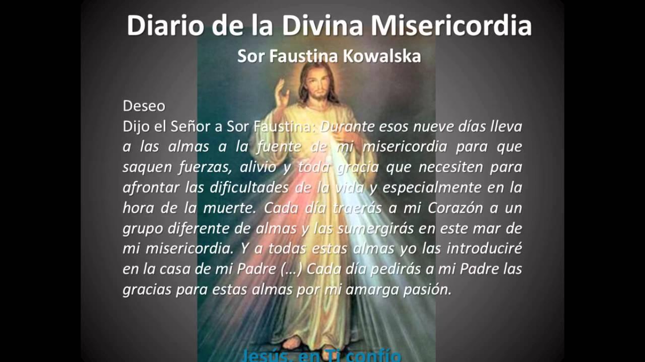 Novena de la coronilla dela divina misericordia