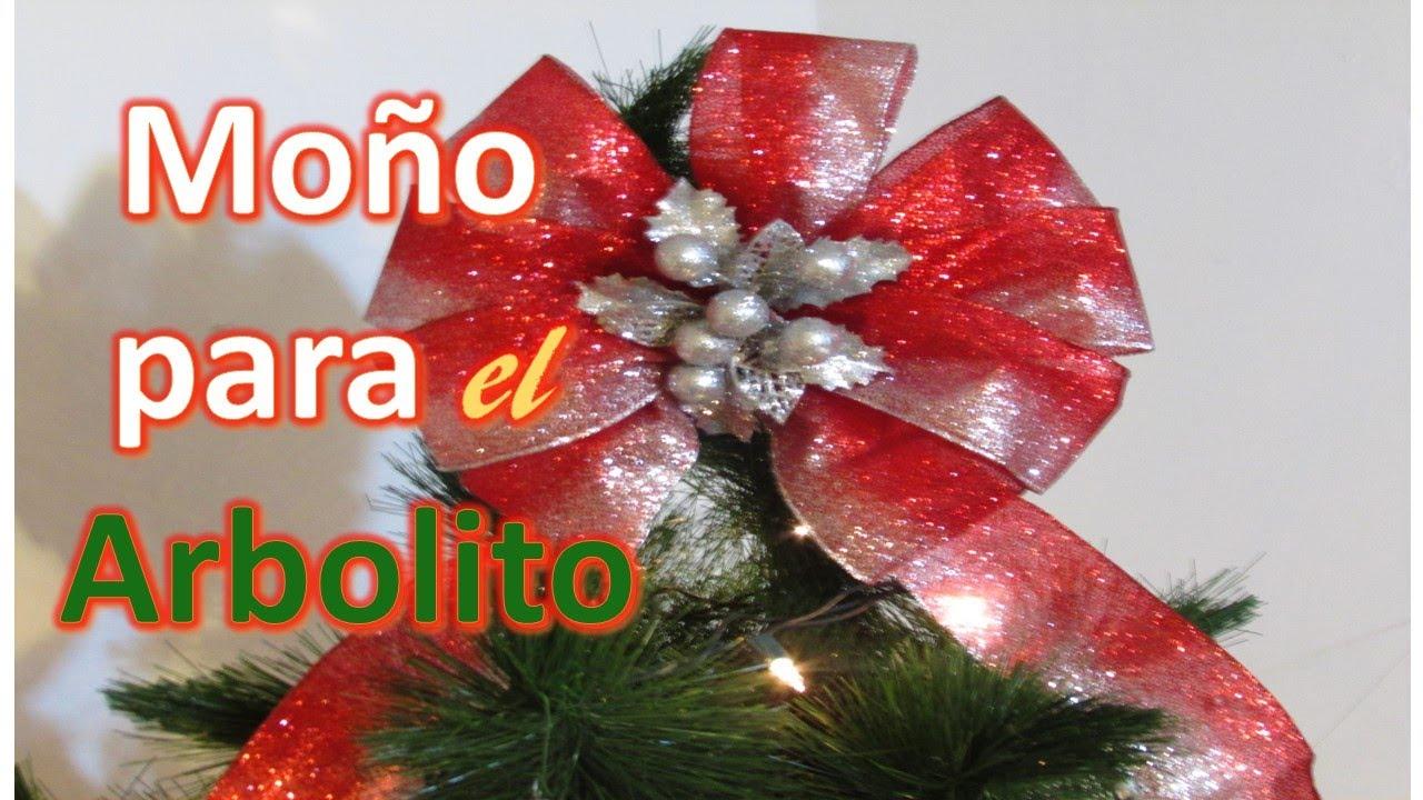 Mo o para el arbolito de navidad youtube - Lazos para arbol de navidad ...