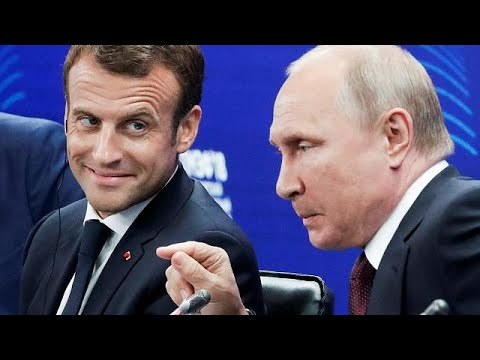 Macron encourage les affaires en Russie