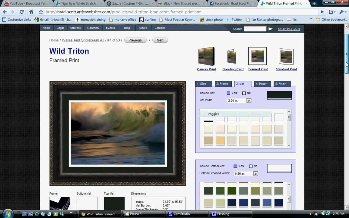 How i made 5000 selling my art photography how to online for Sell art prints online