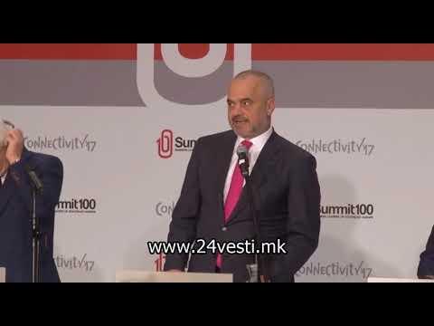 Еди Рама: Дојдов како пријател на Македонија