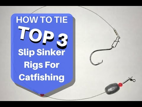 How to Make a Slip Sinker Catfish Rig