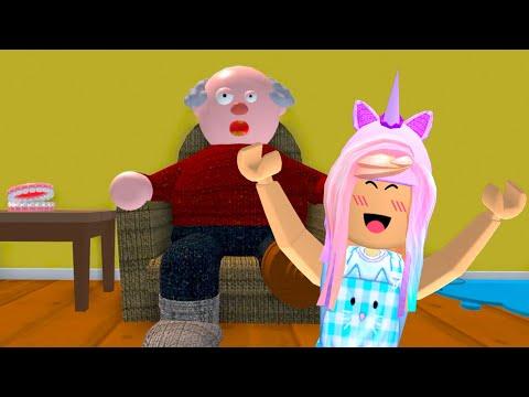ROBLOX Escape Evil Grandpa's House Obby
