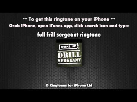 Drill Sergeant Wake Up Call Ringtone
