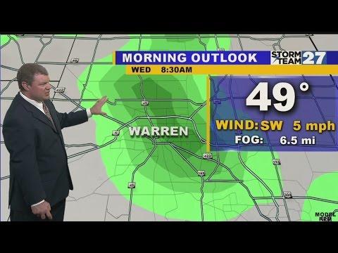 Warren Early Morning Weather 10-14-2015