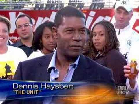 Dennis Haysbert On 'The Unit' (CBS News)