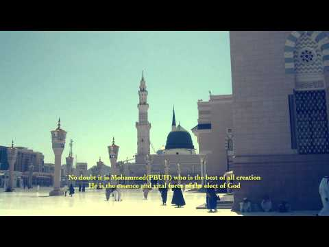Arabic Qaseedah in Praise of Holy Prophet Muhammad by Hazrat Mirza Ghulam Ahmad