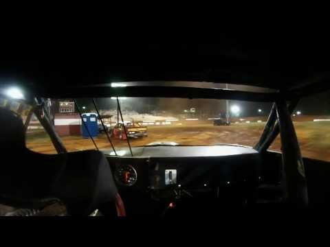 Talladega Short Track Nesmith Street Stock in car cam