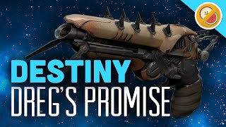 DESTINY Dreg's Promise Exotic Sidearm Review (House of Wolves DLC) Funny Moments