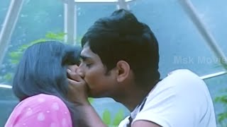 "Sidharth - Hansika Romantic Kissing Scene - ""Sridhar"" Latest Tamil Movie Scene"