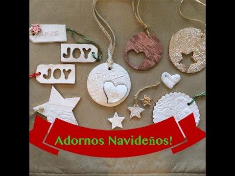 Adornos navide os caseros bellos y f ciles de hacer - Adornos navidenos caseros ...