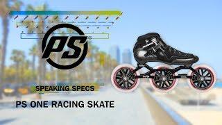 Powerslide One racing skates - Powerslide Speaking Specs