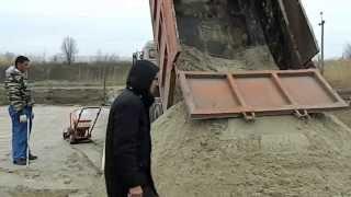 видео Бетон для строительных площадок поселка Ленинское.