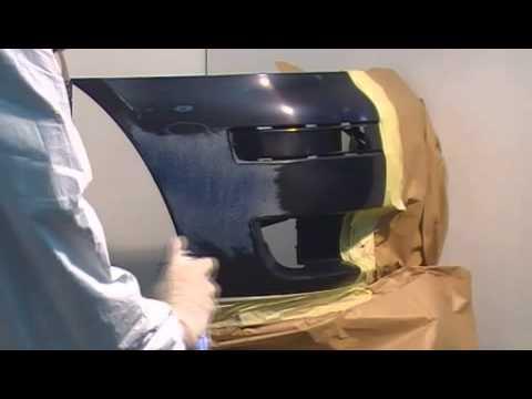 car body repair guide bumper repair using spray can. Black Bedroom Furniture Sets. Home Design Ideas