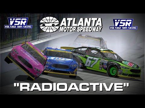 "NR2003 ""Radioactive"" - VSR Piston Cup Series Chase Race #2 Atlanta"