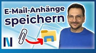 Windows 10 für Senioren: Anhänge in E-Mails – Öffnen, Speichern, Verfassen