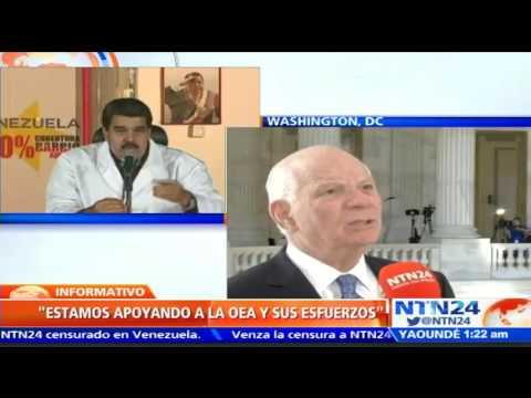 """""""Necesitamos restaurar las instituciones democráticas en Venezuela"""" Ben Cardin, senador demócrata y"""