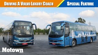 Exclusive drive of Volvo 9400 series luxury coaches