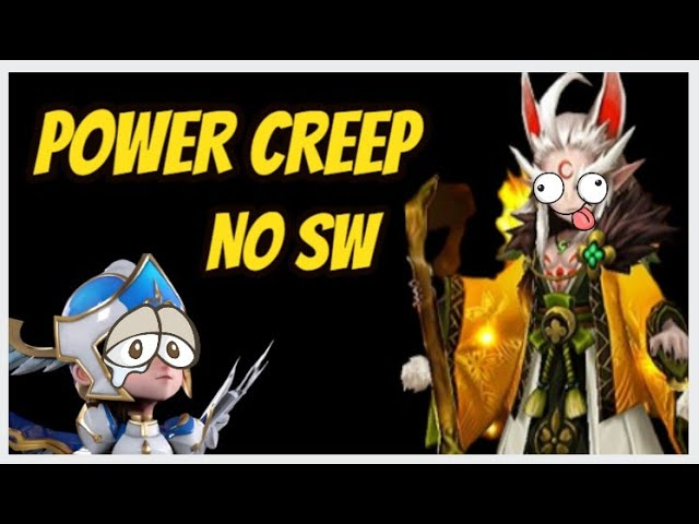 Existe Power Creep no Summoners War?! Como consertar?!