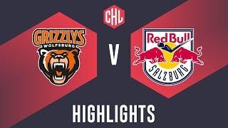 Highlights: Grizzlys Wolfsburg vs. Red Bull Salzburg