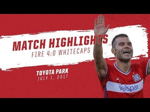 Match Highlights | Fire rout Whitecaps, 4-0, at Toyota Park