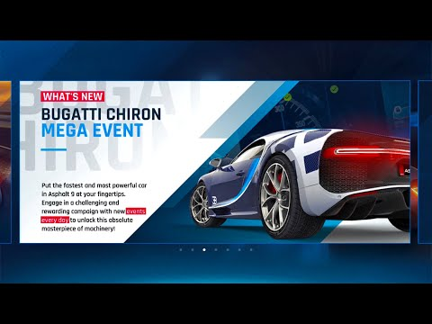 Asphalt 9, NEW SLIPSTREAM UPDATE, yes, the Chiron is coming