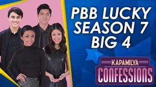 kapamilya confessions with pbb lucky season 7 big 4   youtube mobile livestream
