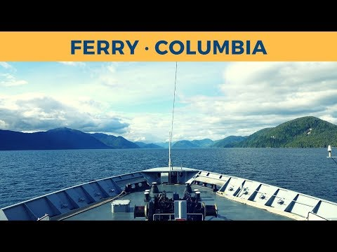 Passage on ferry COLUMBIA, Bellingham - Ketchikan (Alaska Marine Highway System)
