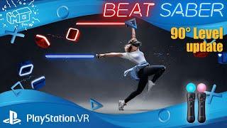 Beat Saber / Playstation VR ._. 90 grad update / Lets play / deutsch / live