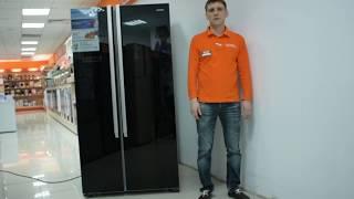 Відеоогляд холодильника LERAN SBS 505 BG з фахівцем від RBT.ru