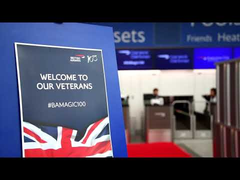 British Airways - Flying World War Two Veterans to the Netherlands