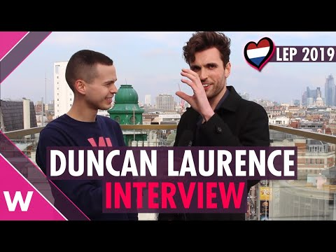 Duncan Laurence (Netherlands 2019) | London Eurovision Party INTERVIEW