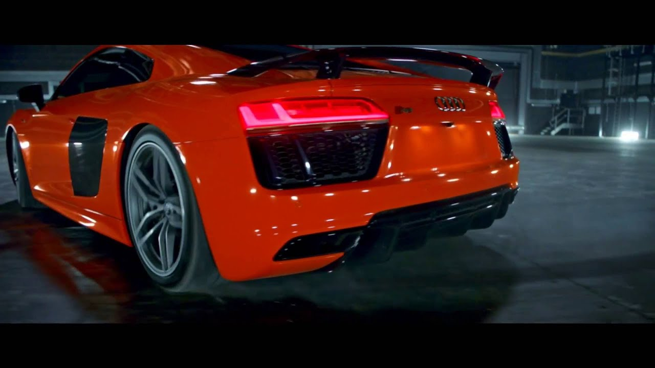 Audi R Spin Commercial YouTube - Audi r8 commercial