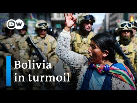 Bolivia protests: Morales