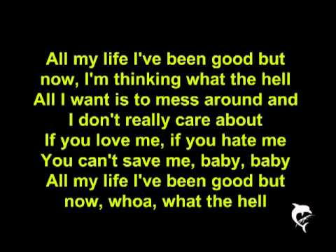 Avril Lavigne - What The Hell [LYRICS] [HQ]