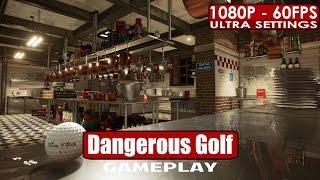 Dangerous Golf gameplay PC HD [1080p/60fps]