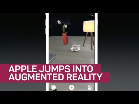 Apple jumps into augmented reality with developer kit (CNET News)