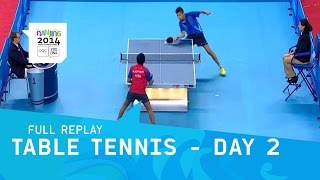 Baixar Table Tennis - Day 2 Round 3 Men/Women Singles | Full Replay | Nanjing 2014 Youth Olympic Games