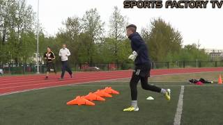 Specific Training for Goalkeepers ◘ Sports Factory ◘ Riga (HD)