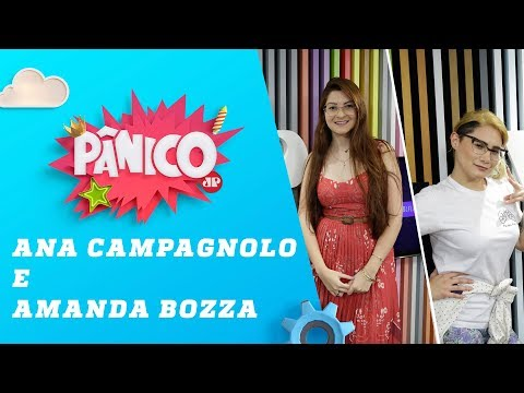 Ana Caroline Campagnolo e Amanda Bozza – Pânico – 17/06/19