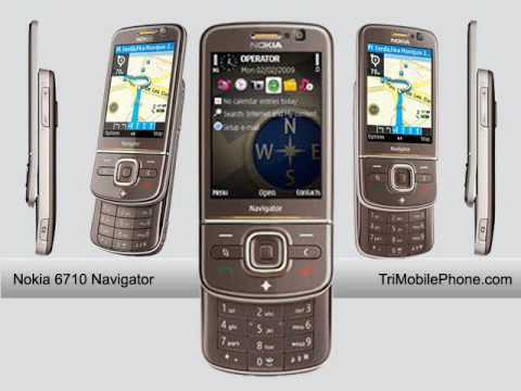 Nokia 6710 Navigator Mobile Phone Specification, Features and Slide show