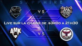 🔴CCF League Sapphire  semaine 1    Clash Of Clans