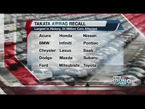 Is your car in the airbag recall?