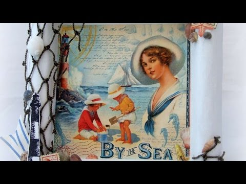 How To Make A Nautical Themed Wall Hanging – DIY Home Tutorial – Guidecentral
