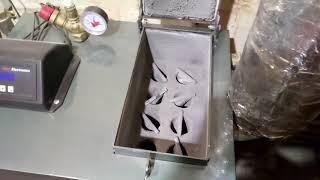 Обзор котла 16 кВт для пеллетной горелки.