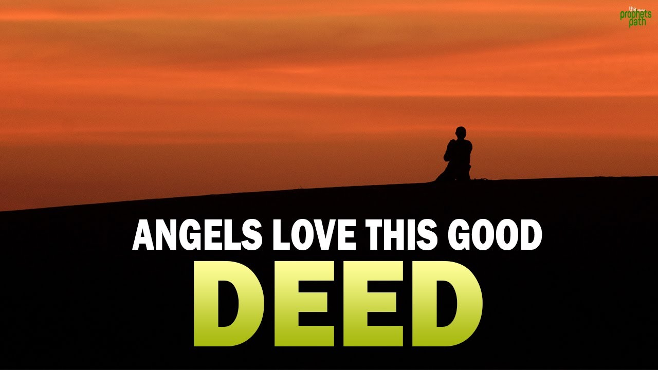 ANGELS LOVE TO RECORD THIS ONE DEED!