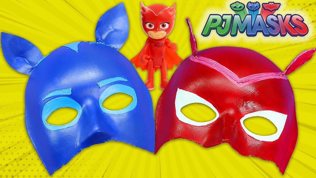 Pijamaskeliler Maske Yapimi Oyuncak Butigim Youtube
